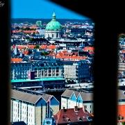 Copenhagen Panorama 2--From Vor Frelsers Kirke (Church of Our Savior)