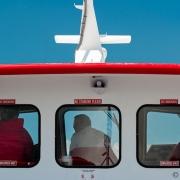 The Ferry Crew, St. Ignace, Michigan